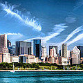 Chicago Skyline Panorama by Christopher Arndt