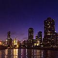Chicago Skyline Vi by Margie Hurwich