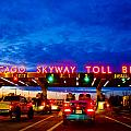 Chicago Skyway Toll Bridge by John McGraw