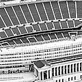 Chicago Soldier Field Aerial Panorama Photo by Paul Velgos