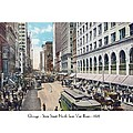 Chicago - State Street North From Van Buren - 1925 by John Madison