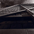 Chicago Structure Bw by Steve Gadomski