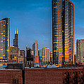Chicago Sunset Photogtaphy by Michael  Bennett