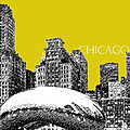 Chicago The Bean - Mustard by DB Artist