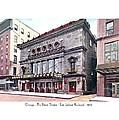 Chicago - The Illinois Theatre - East Jackson Boulevard - 1910 by John Madison