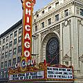 Chicago Theater Facade Southside by Thomas Woolworth
