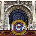 Chicago Theater Marquee by Frozen in Time Fine Art Photography