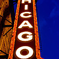 Chicago Theater Sign by John McGraw