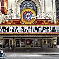 Chicago Theater Signage by Thomas Woolworth