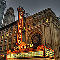 Chicago Theatre Hdr by Josh Bryant
