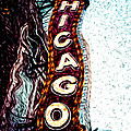 Chicago Theatre Sign Digital Art by Paul Velgos