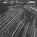Chicago Transportation 02 Black And White by Thomas Woolworth