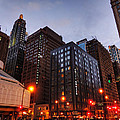 Chicago - Wabash And Wacker 001 by Lance Vaughn