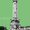 Chicago Water Tower - Apple by DB Artist