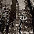 Chicago Water Tower B W by Steve Gadomski