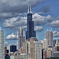 Chicago Willis Sears Tower by Thomas Woolworth
