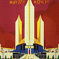 Chicago World Fair A Century Of Progress Expo Poster  1933 by R Muirhead Art