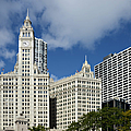 Chicago - Wrigley Building by Christine Till