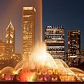 Chicago's Buckingham Fountain by Semmick Photo