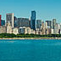 Chicago's Lakefront Panorama by Kevin Eatinger
