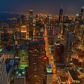 Chicagos Magnificent Mile by By Ken Ilio