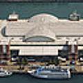 Chicago's Navy Pier Aerial Panoramic by Adam Romanowicz