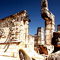 Chichen Itza - Chac Mool Guardian by Robert  Rodvik
