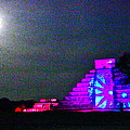 Chichen Itza Full Moon by Dashama  Gordon