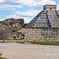 Chichen Itza - Mexico. View On El Castillo Pyramid. by Renata Ratajczyk