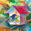 Chickadee Bungalow by Teresa Ascone