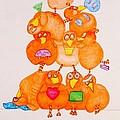 Chickadee Chick 10 by Debra Barrie