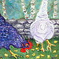 Chicken Neighbors by Natalie Rotman Cote
