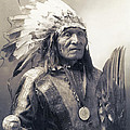 CHIEF HE DOG of the SIOUX NATION  c. 1900 by Daniel Hagerman