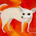 Chihuahua En Fuego by Lori Ziemba