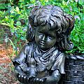Child And Dove by Ginger Wakem