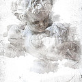 Child Cherub by Evie Carrier
