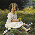 Child In The Meadow by Mountain Dreams