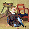 Childhood by Ludvig August Smith