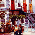 Childhood Montreal Memories Balconies And Bikes The Boys Of Summer Our Streets Tell Our Story by Carole Spandau