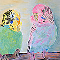 Childhood Parakeets by Meryl Goudey