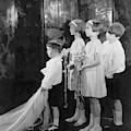Children In A Wedding Procession by Edward Steichen