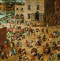 Childrens Games by Pieter Bruegel the Elder