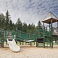 Childrens Playground At Lake Merwin Park by Jit Lim