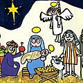 Children's School Nativity Play by Jane Freeman