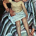 Child's Bath by Mary Cassatt