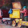 Child's Play - Gold Mine Train by Talya Johnson
