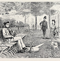 Chill October Rotten Row 1871 by English School