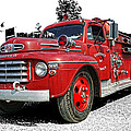 Chilliwack Fire- Mercury Firetruck by Randy Harris