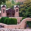 Chimayo Sanctuary by Ricardo J Ruiz de Porras