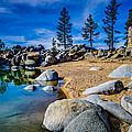 Chimney Beach Lake Tahoe by Scott McGuire